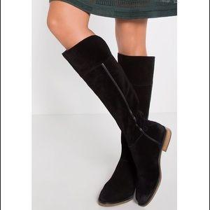NIB Franco Sarto Christine black suede tall boots
